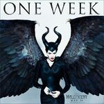 Maleficent One Week Poster
