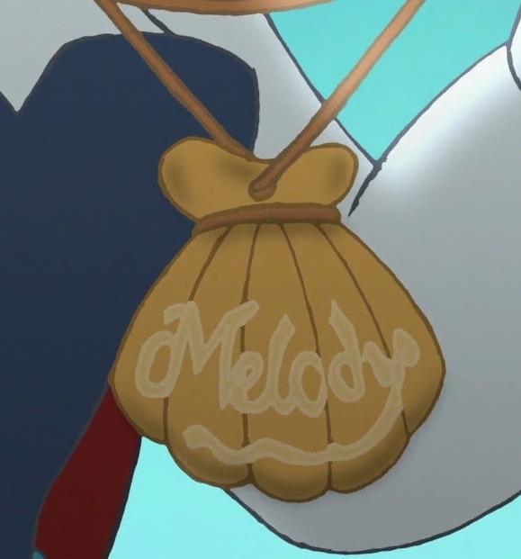 Melody's locket