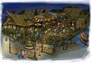 Tropical Hideaway Concept Art