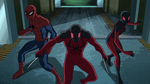 Ultimate Spider-Man - 4x21 - Spider Slayers, Part One - Spider-Man, Scarlet Spider and Ultimate Spider-Woman