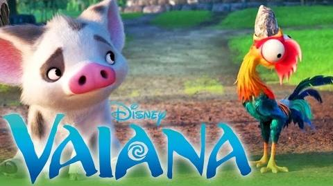 VAIANA - Spot Hei Hei und der Stein Disney HD