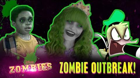 ZOMBIFIED Disney Channel Stars ZOMBIES Disney Channel
