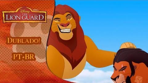 A Guarda do Leão - Marcado Eu Fiquei (Dublado PT-BR) (HD)