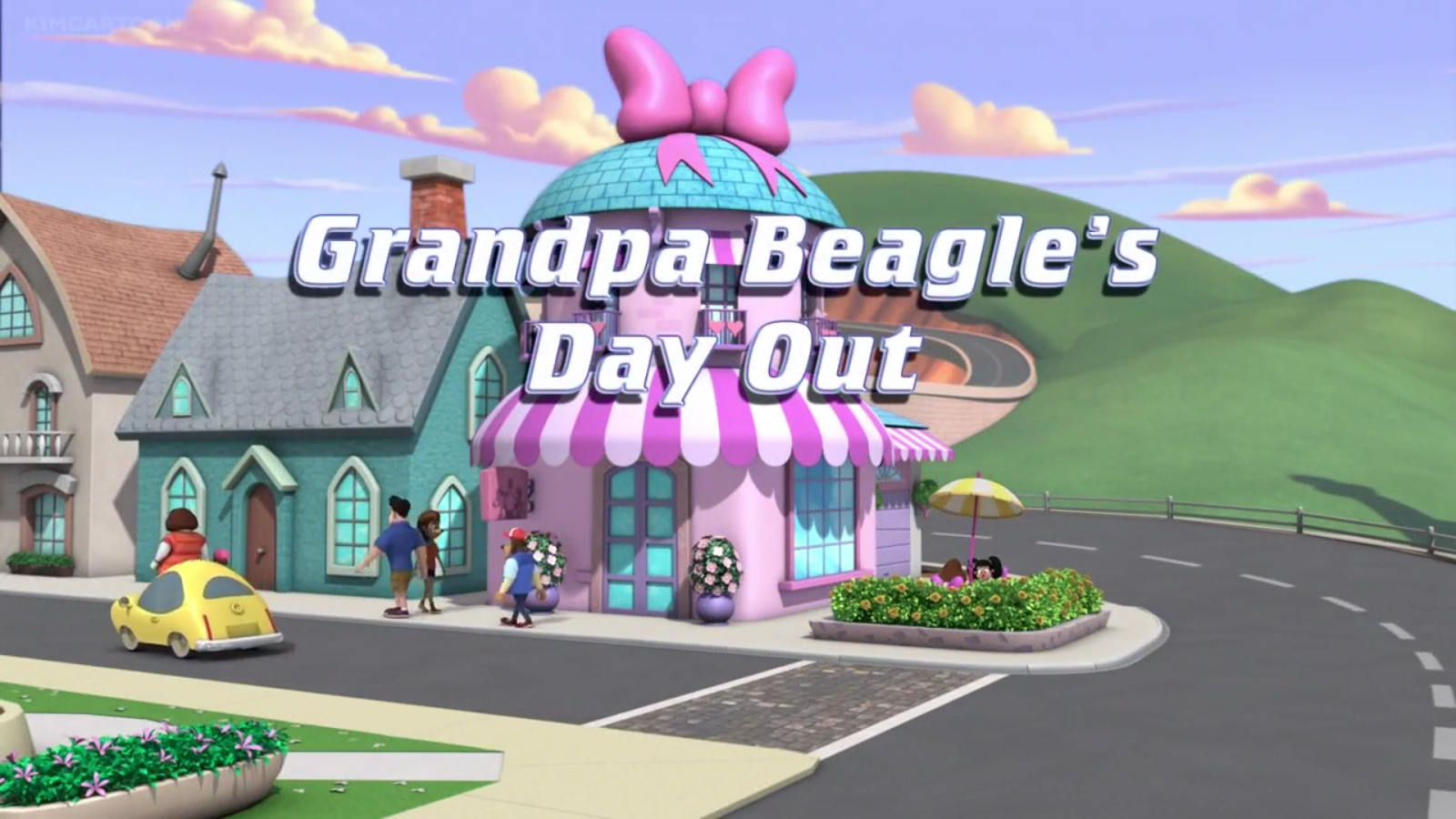 Grandpa Beagle's Day Out