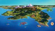 Snow White's Castle in Auradon Prep