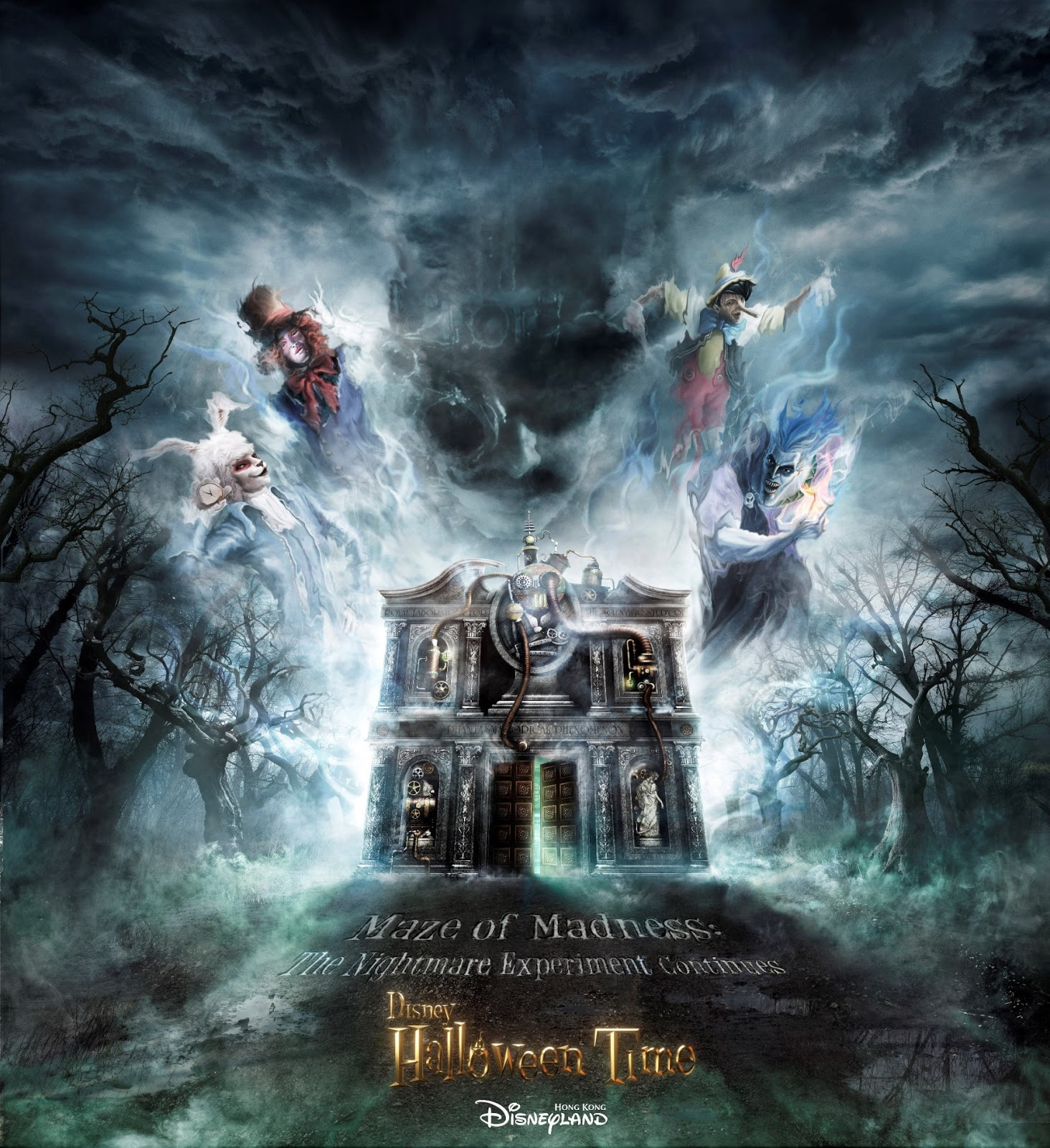 Hong Kong Disneyland Halloween Time 2020 Mazes The Nightmare Experiment | Disney Wiki | Fandom