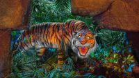 Tiger magic kingdom Jungle Cruise