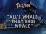 All's Whale That Ends Whale