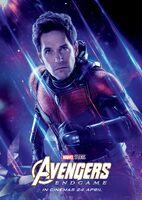 Avengers Endgame Russian poster - Ant-Man