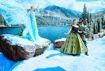 Frozen Musical photography
