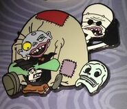 Igor and Dr. Finklestein Pin