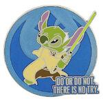 Stitch Yoda Pin