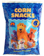 Bear in the Big Blue House Corn Snacks 1