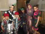 Carlos, Smee twins, Celia, Audrey and Dizzy