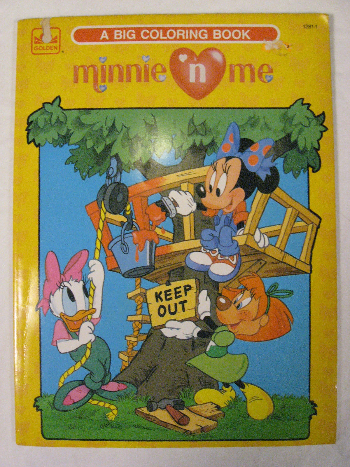 Minnie N' Me: A Big Coloring Book