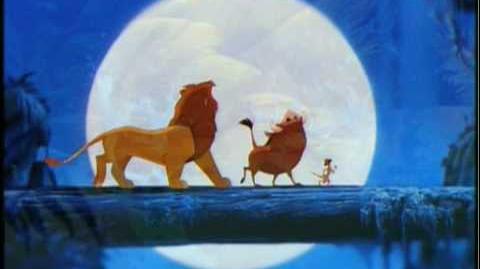 The Lion King (Platinum Edition) 2003 DVD Trailer
