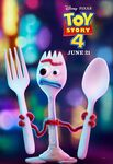 Toy Story 4 character poster - Forky