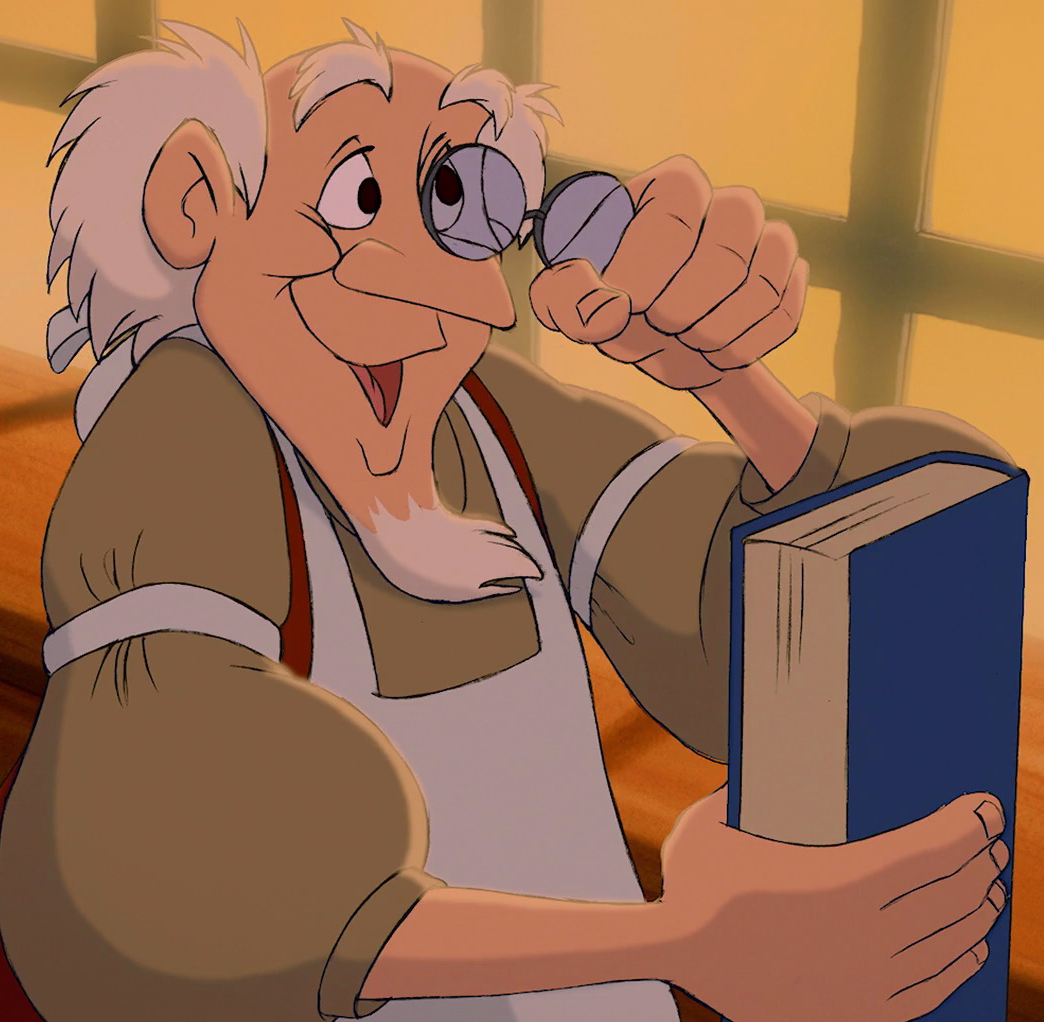 Bookseller (Beauty and the Beast)