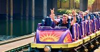 California Screamin Purple Coaster