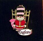 Cheshire Cat England pin