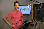 Danny Pudi Behind the scenes DuckTales