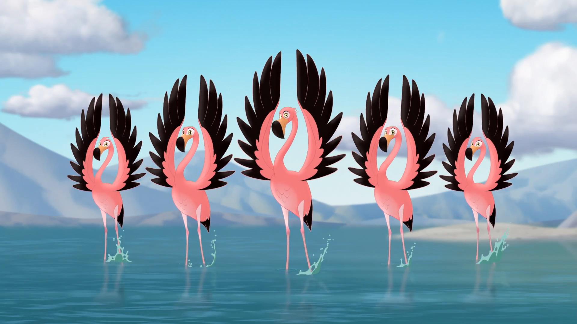 Flamingo Dance Party