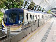 P505-P506 MTR Disneyland Resort Line(Close doors) 22-06-2020