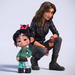 Vanellope and Shank