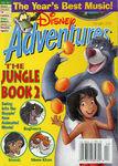 Disney Adventures Magazine cover February 2003 The Jungle Book