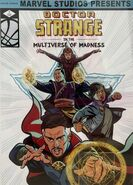 Doctor Strange in the Multiverse of Madness art