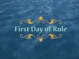 First Day of Rule