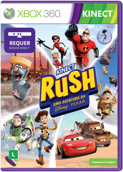 Kinect Rush: Uma Aventura da Disney/Pixar