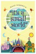 Optimist Small World Poster