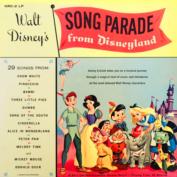 Walt Disney's Song Parade from Disneyland