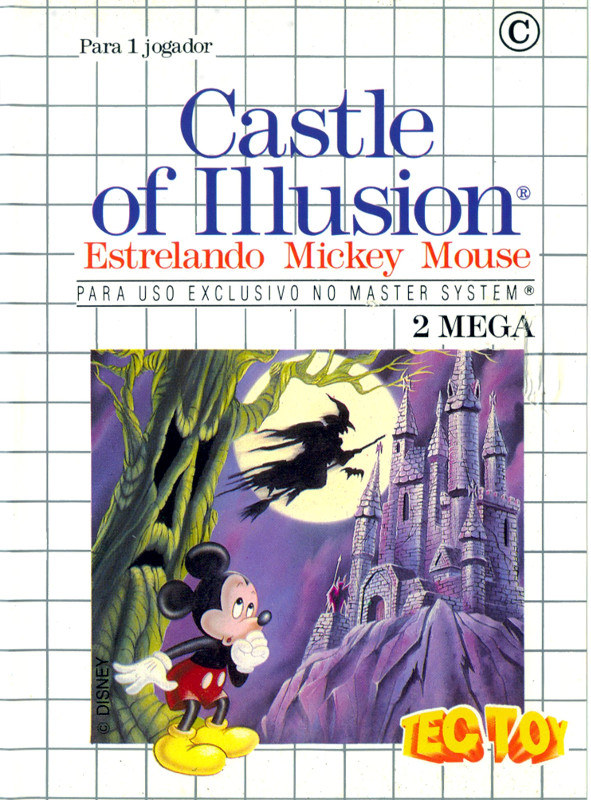 Castle of Illusion starring Mickey Mouse (8-bit)