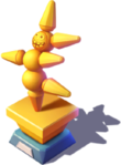 D-golden botfighter trophy
