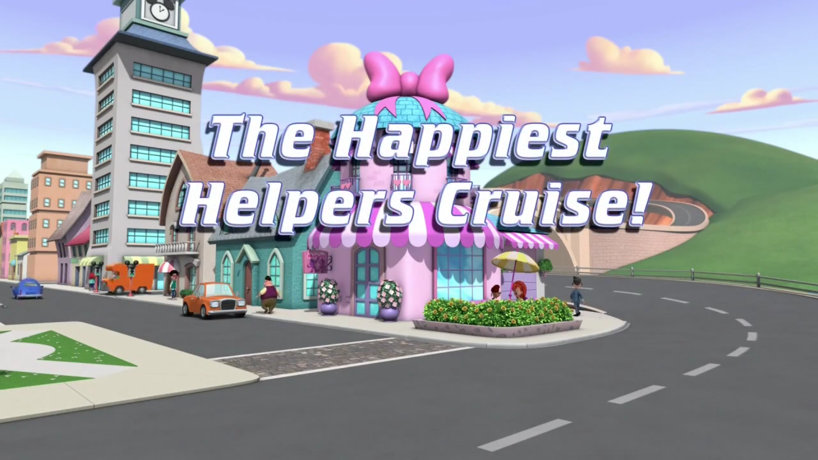 The Happiest Helpers Cruise!