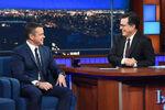 Matt Damon visits Stephen Colbert
