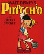 Pinocchio and Jiminy Cricket cover