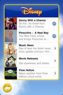 Disney app screen shot 4