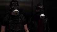 Agents of S.H.I.E.L.D. - 1x18 - Providence - Ward and Garrett Masks