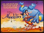 Aladdin UK poster