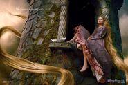 Disney Dream Portrait Series - Rapunzel - Where a World of Adventure Awaits
