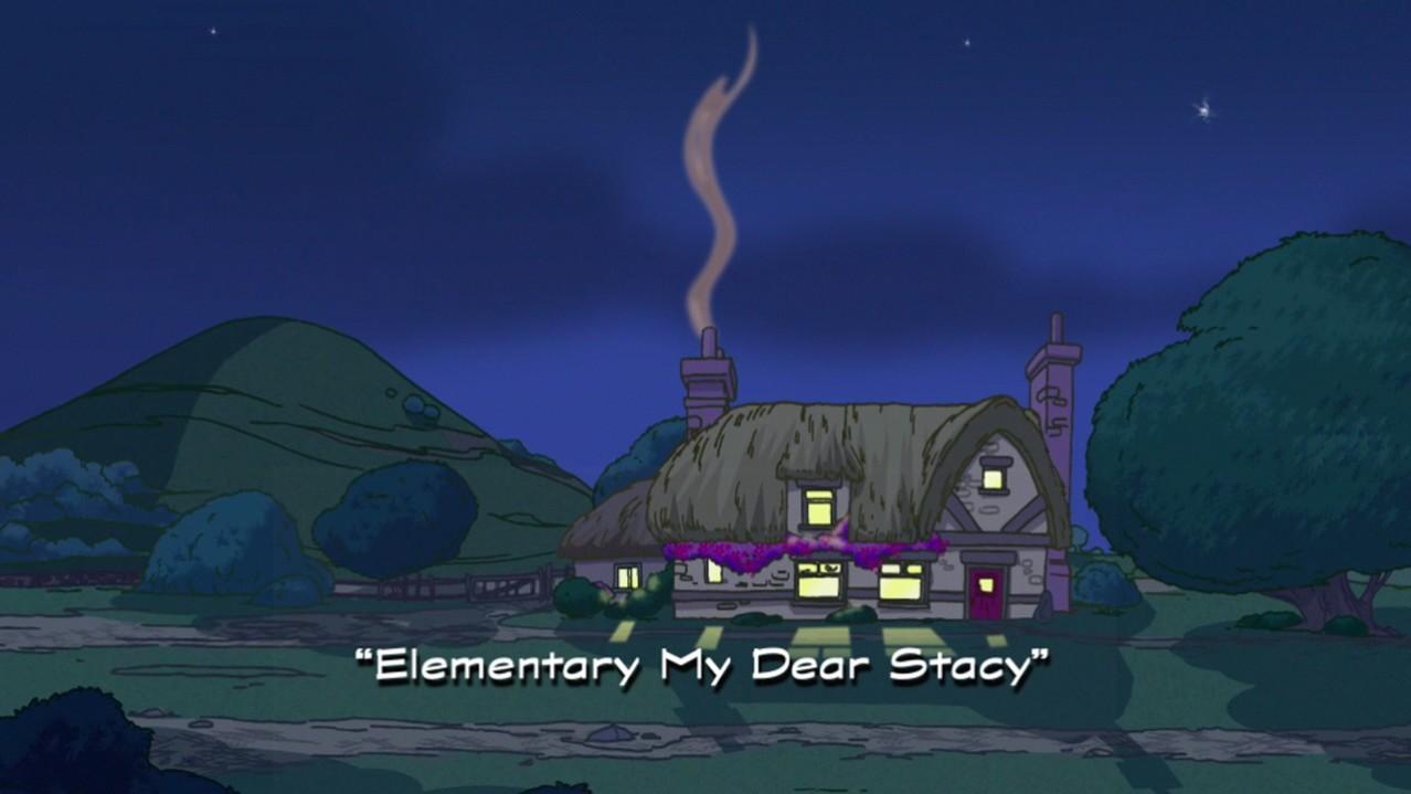 Elementary My Dear Stacy