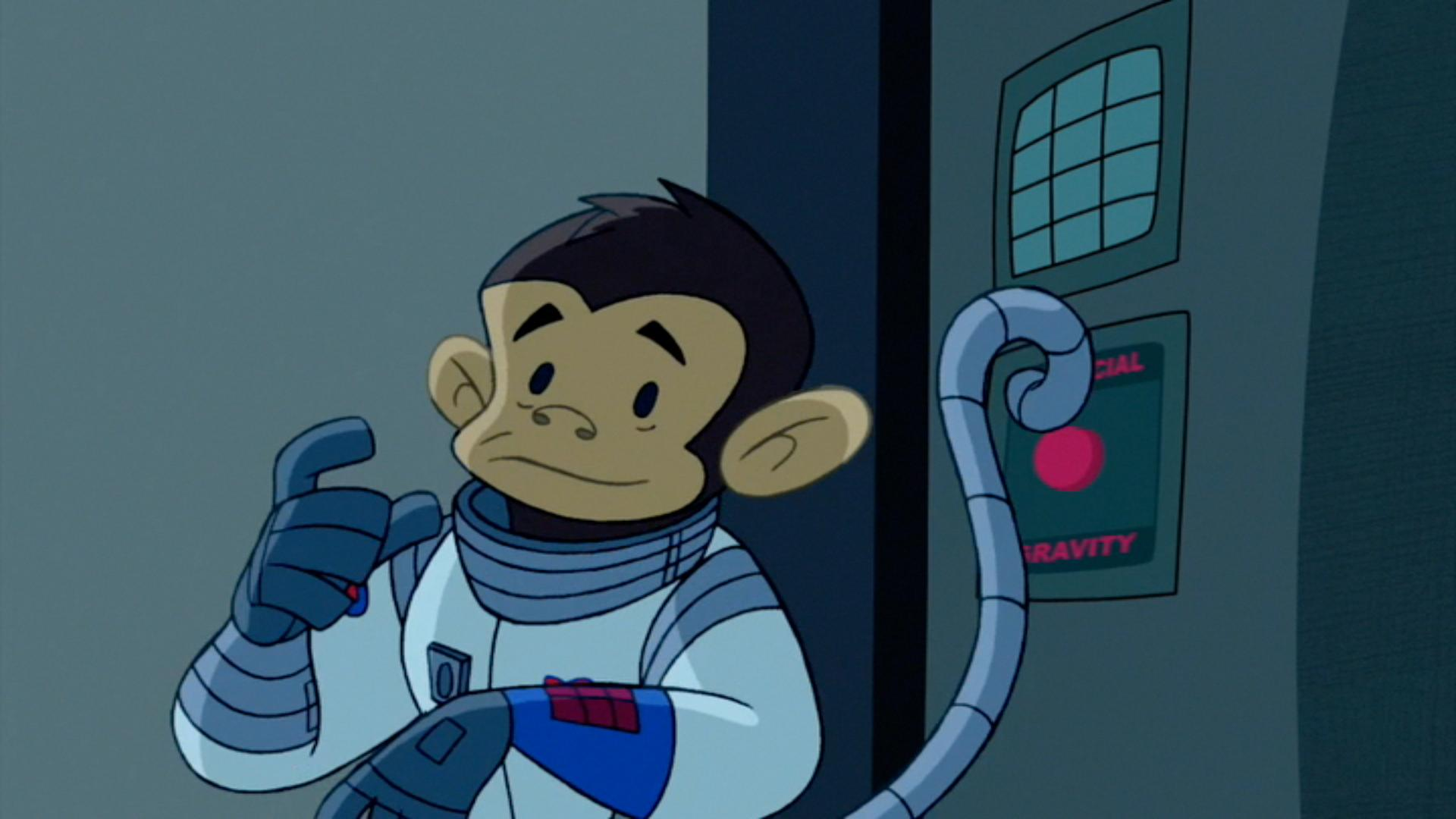 Monkey Ninjas in Space