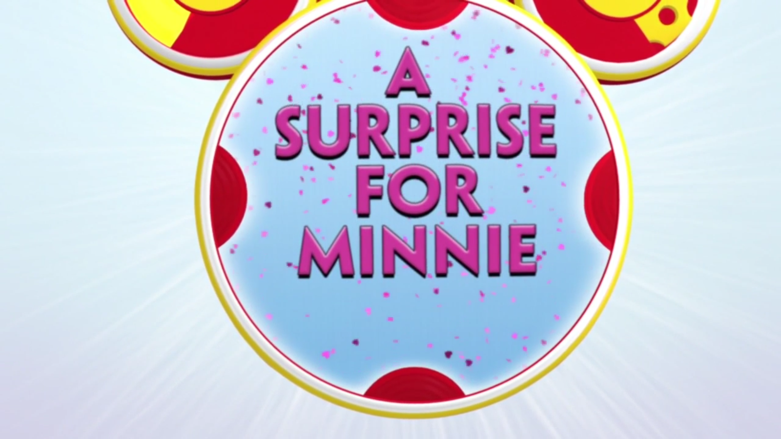 A Surprise for Minnie