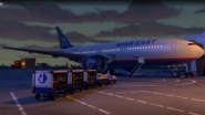 Toy Story 2 Far East Airlines Plane