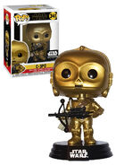 C-3PO with bowcaster POP