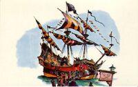 Chicken of the Sea Pirate Ship Concept Postcard