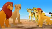 Kion reunited with his parents after TLK2
